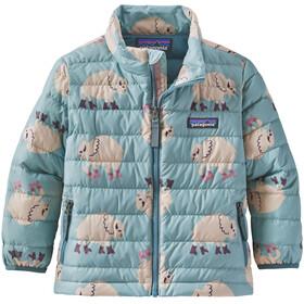 Patagonia Donzen Sweater Jas Kinderen, let's regenerate/gypsum green